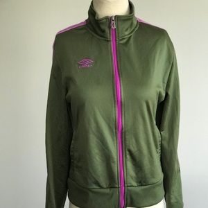Umbro Women's Track Jacket sz M